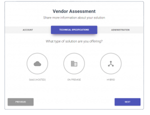 Digital-vendor-assessment
