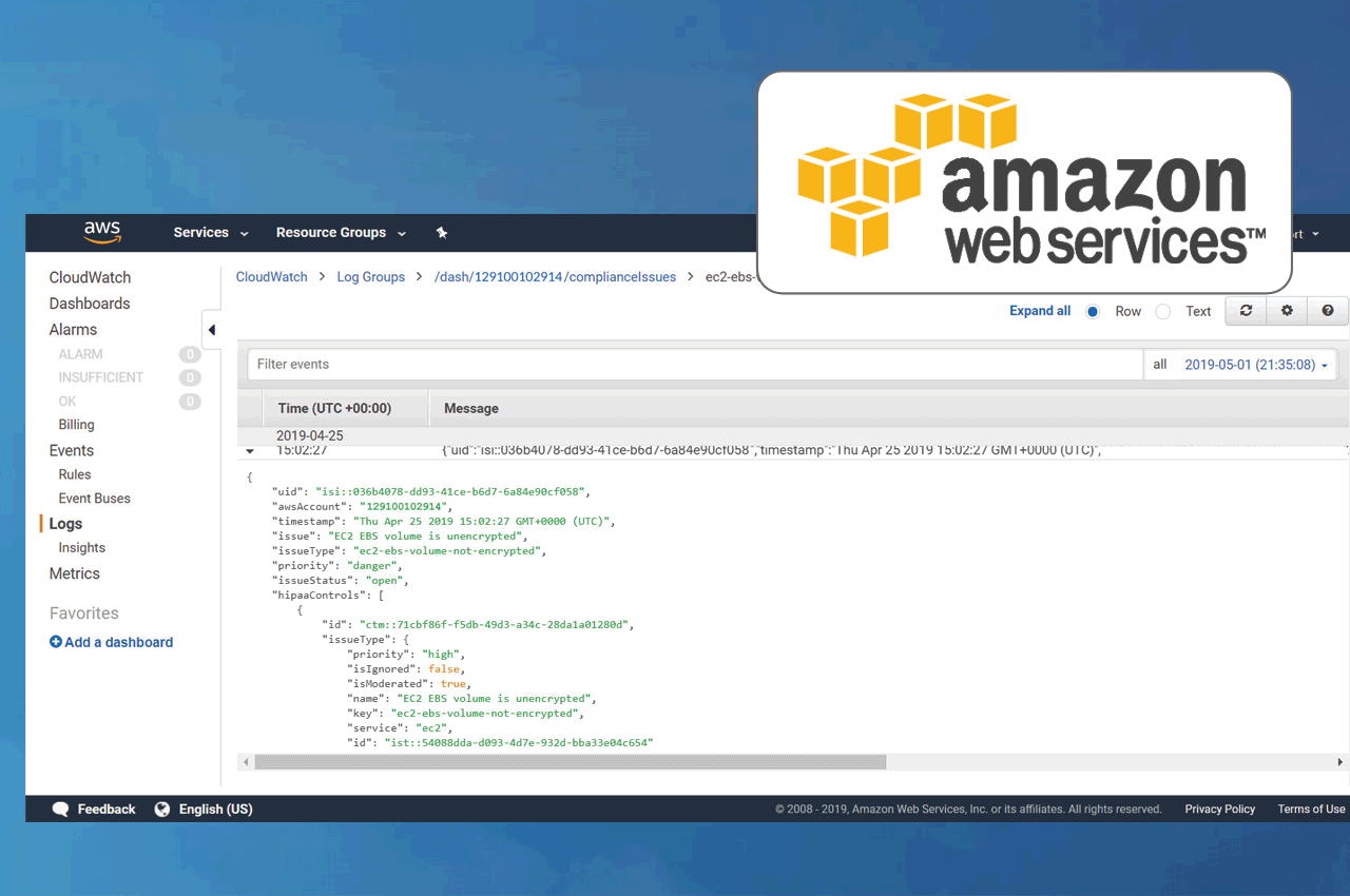 Amazon Elasticsearch Service is now HIPAA Eligible | Dash