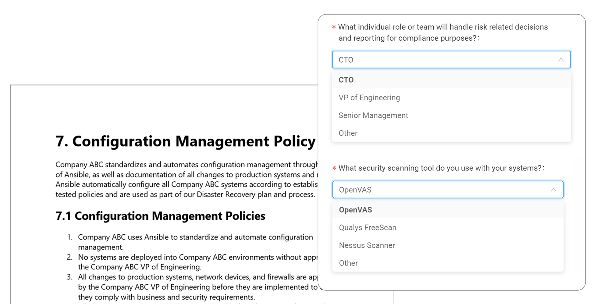 Custom Policies For Your Organization