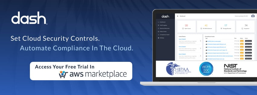 Dash AWS marketplace